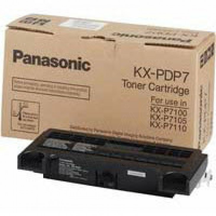 Panasonic KX-PDP7 Black OEM Laser Toner Cartridge