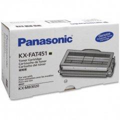 Original Panasonic KXFAT451 Black Toner