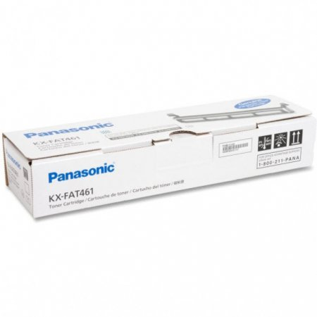 Original Panasonic KXFAT461 Black Toner