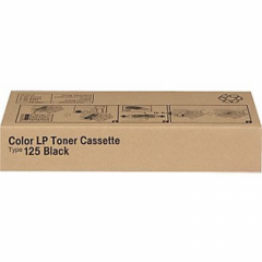 Ricoh 400963 (Type 125) Black OEM Laser Toner Cartridge