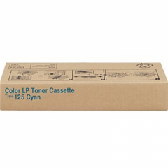 Ricoh 400969 (Type 125) Cyan OEM Laser Toner Cartridge