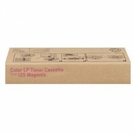 Ricoh 400975 (Type 125) Magenta OEM Laser Toner Cartridge
