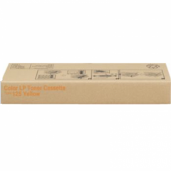 Ricoh 400981 (Type 125) Yellow OEM Laser Toner Cartridge