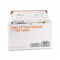 Ricoh 402073 (Type 140) Yellow OEM Laser Toner Cartridge