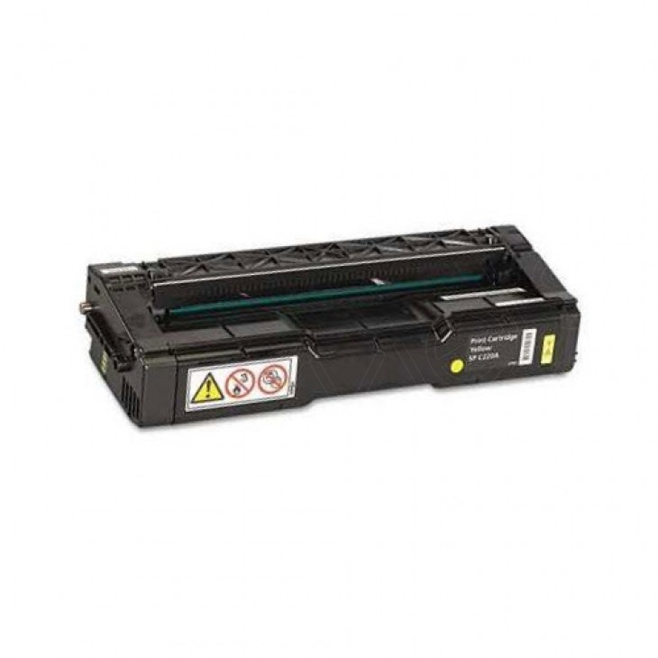 Ricoh 406044 Yellow OEM Laser Toner Cartridge