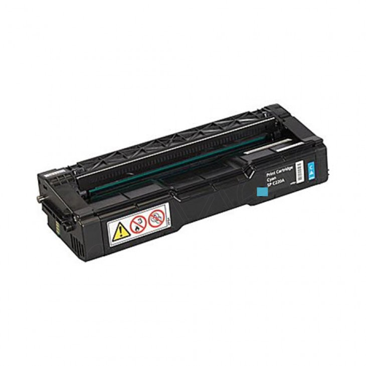 Ricoh 406047 Cyan OEM Laser Toner Cartridge