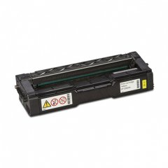 Ricoh 407656 Yellow OEM Toner