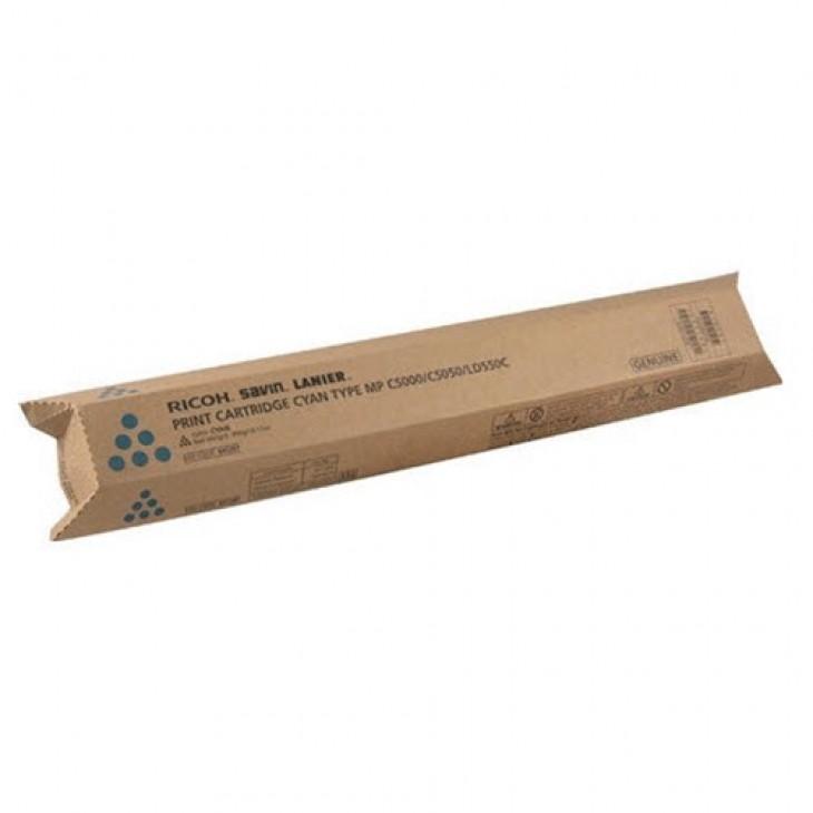 Genuine Ricoh 841287 Cyan Laser Print Cartridge