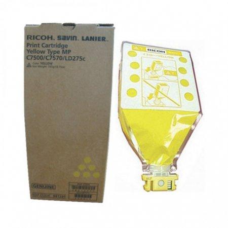 Ricoh 841291 Yellow OEM Laser Toner Cartridge