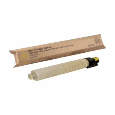 Ricoh 841339 Yellow OEM Laser Toner Cartridge