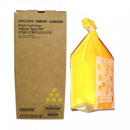 Ricoh 841360 Yellow OEM Laser Toner Cartridge