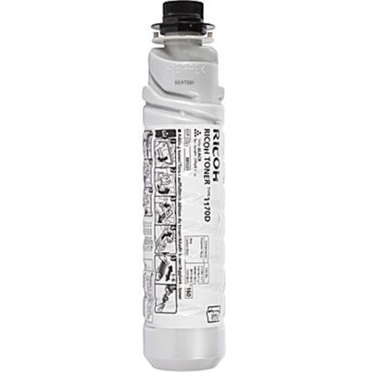 Ricoh 885531 (Type 1170D) Black OEM Laser Toner Cartridge