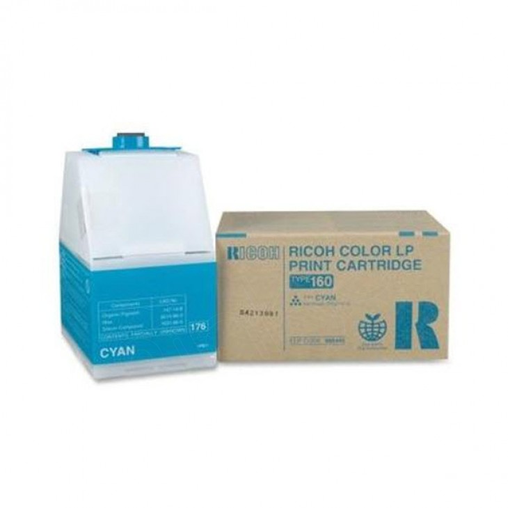 Ricoh 888445 (Type 160) Cyan OEM Laser Toner Cartridge