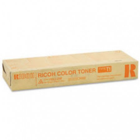 Ricoh 888480 (Type T1) Yellow OEM Laser Toner Cartridge