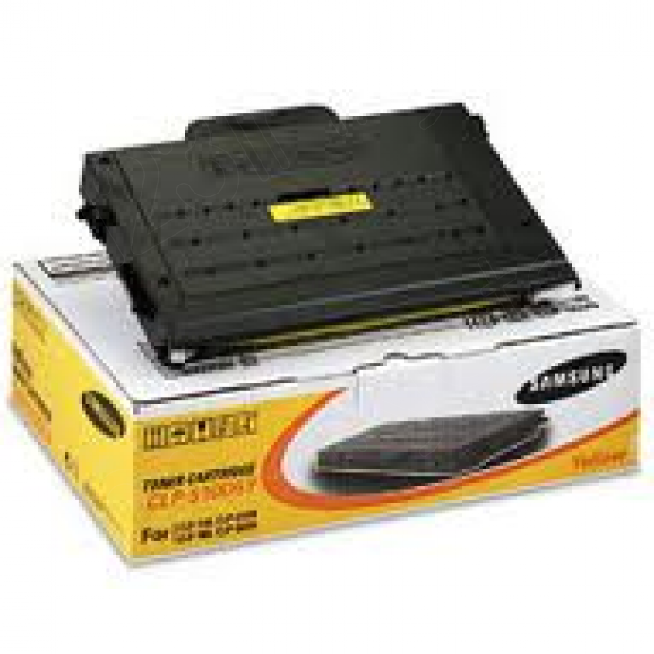 Samsung CLP-510D5Y Yellow OEM Laser Toner Cartridge