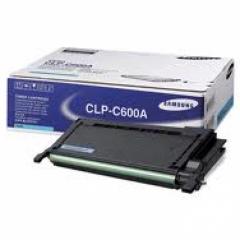 Samsung CLP-C600A Cyan OEM Laser Toner Cartridge