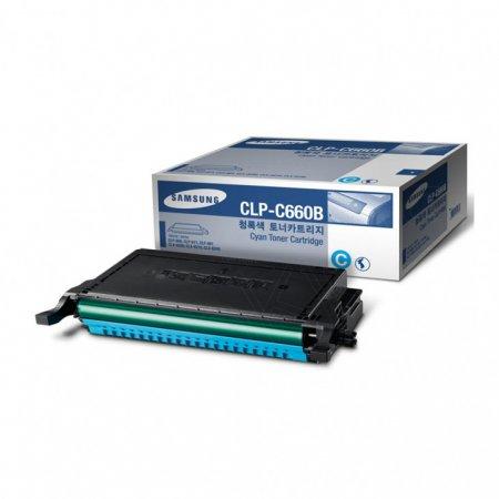 Samsung CLP-C660B High Yield Cyan OEM Laser Toner Cartridge