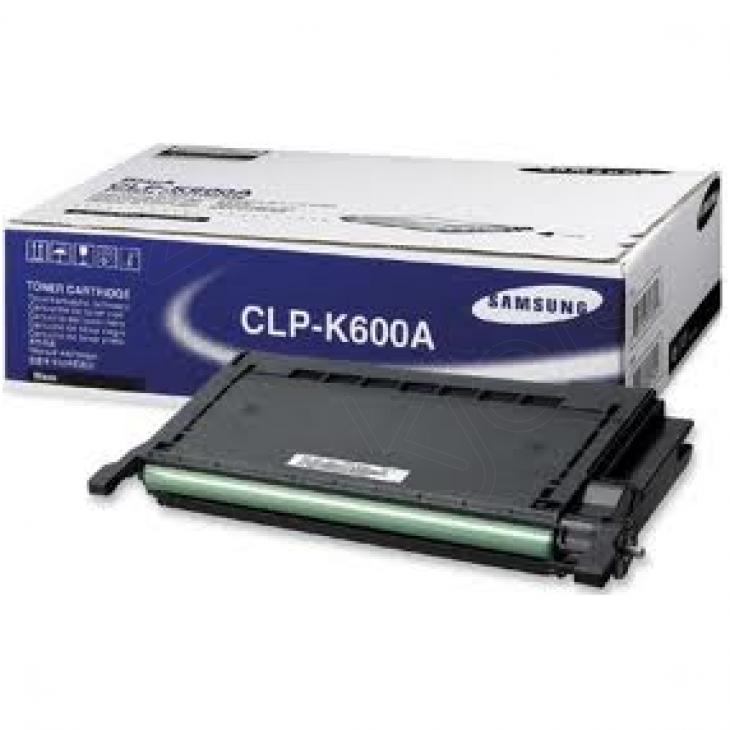 Samsung CLP-K600A Black OEM Laser Toner Cartridge