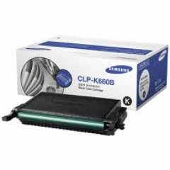 Samsung CLP-K660B High Yield Black OEM Toner Cartridge