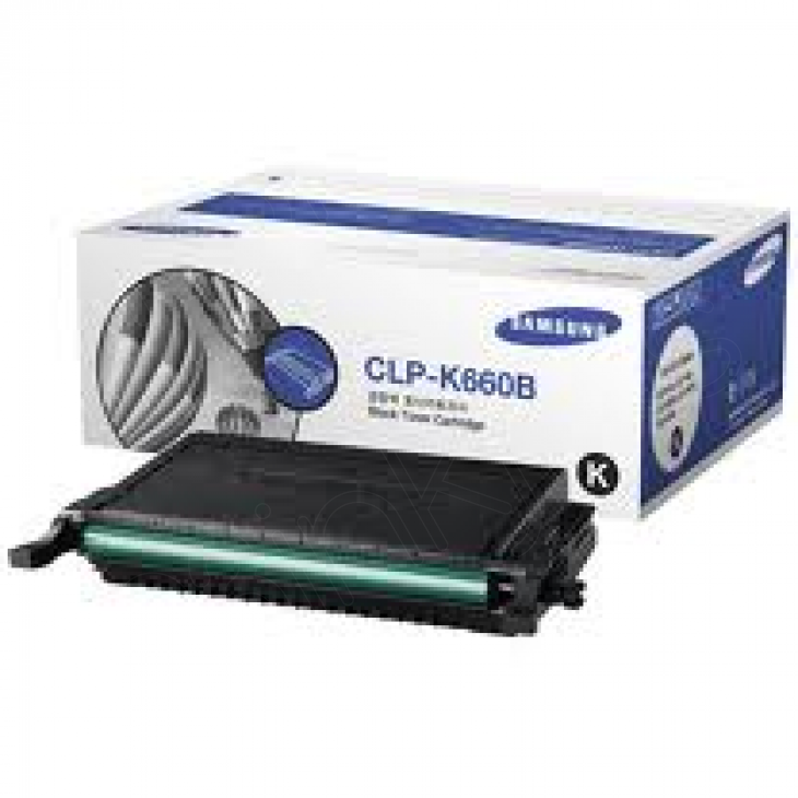 Samsung CLP-K660B High Yield Black OEM Toner Cartridge