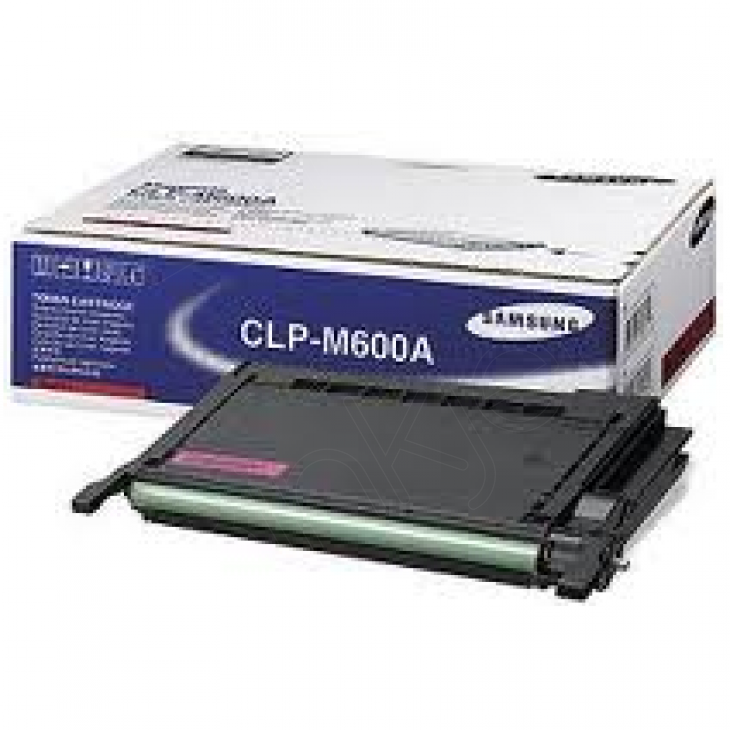Samsung CLP-M600A Magenta OEM Laser Toner Cartridge