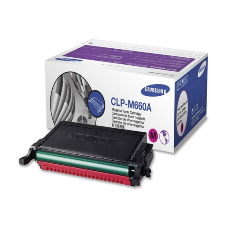 Samsung CLP-M660A Magenta OEM Laser Toner Cartridge