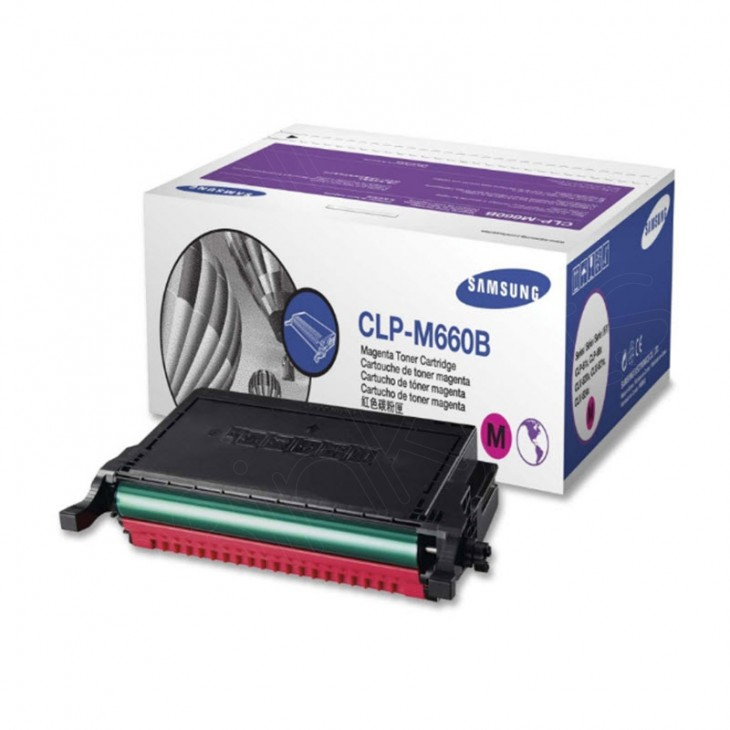 Samsung CLP-M660B High Yield Magenta OEM Toner Cartridge