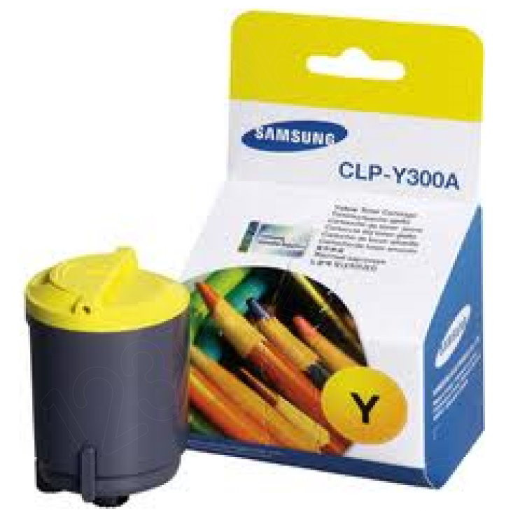 Samsung CLP-Y300A Yellow OEM Laser Toner Cartridge