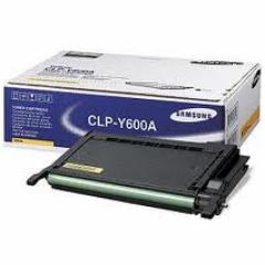 Samsung CLP-Y600A Yellow OEM Laser Toner Cartridge