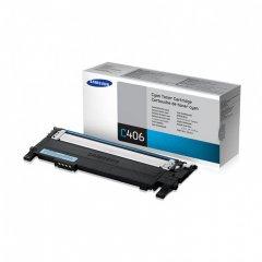 Samsung CLT-C406S Cyan OEM Laser Toner Cartridge