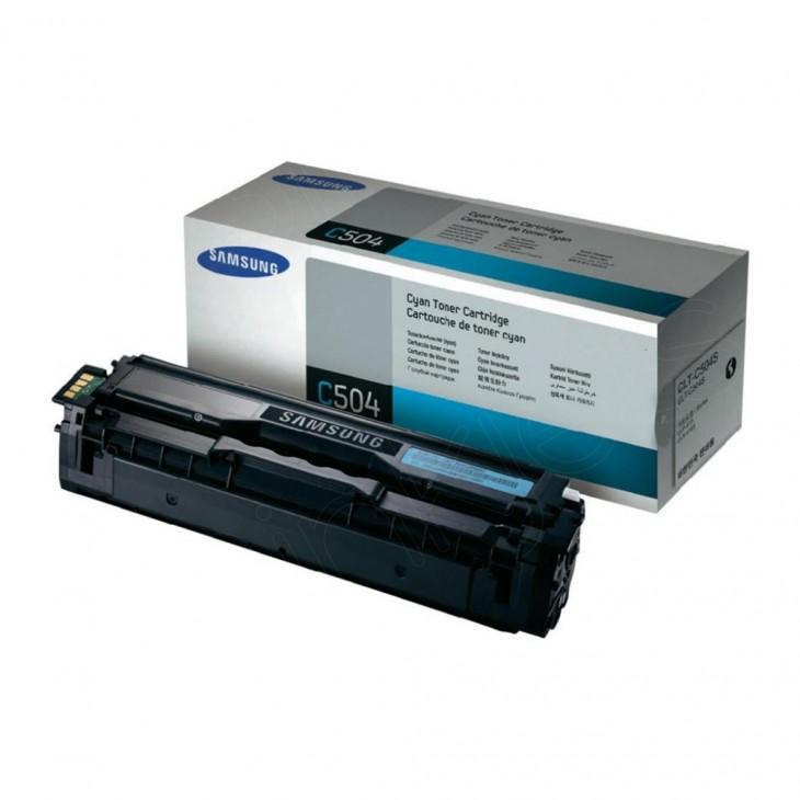 Samsung CLT-C504S Cyan OEM Laser Toner Cartridge