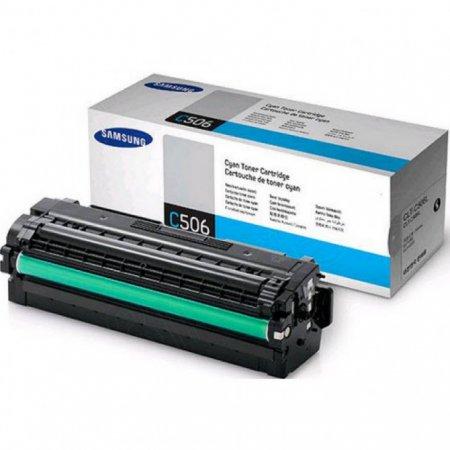 Samsung CLT-C506L High-Yield Cyan OEM Laser Toner Cartridge
