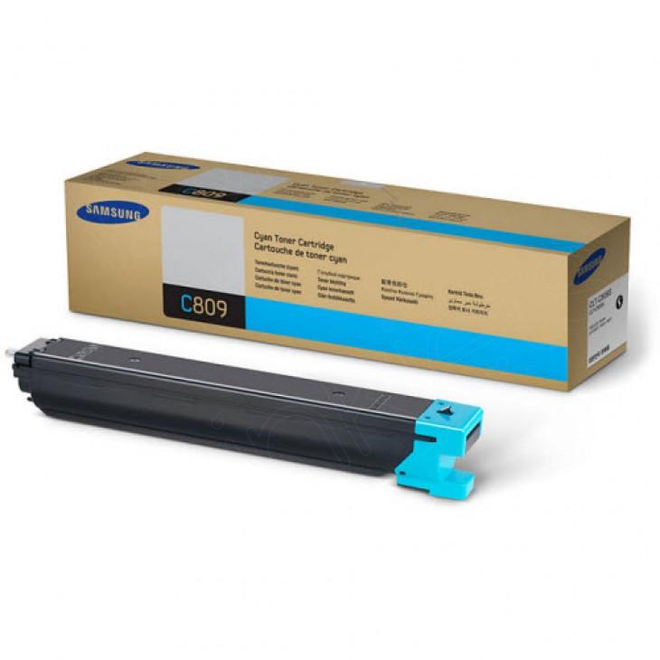 Samsung CLT-C809S Cyan OEM Laser Toner Cartridge