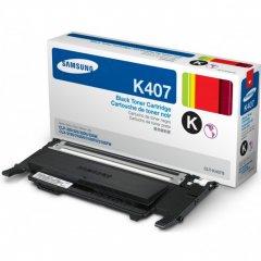 Samsung CLT-K407S Black OEM Laser Toner Cartridge