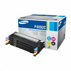 Samsung CLT-P409C 4 Pack (BCMY) OEM Laser Toner Cartridge