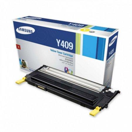 Samsung CLT-Y409S Yellow OEM Laser Toner Cartridge