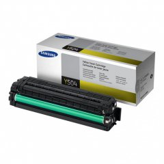 Samsung CLT-Y504S Yellow OEM Laser Toner Cartridge