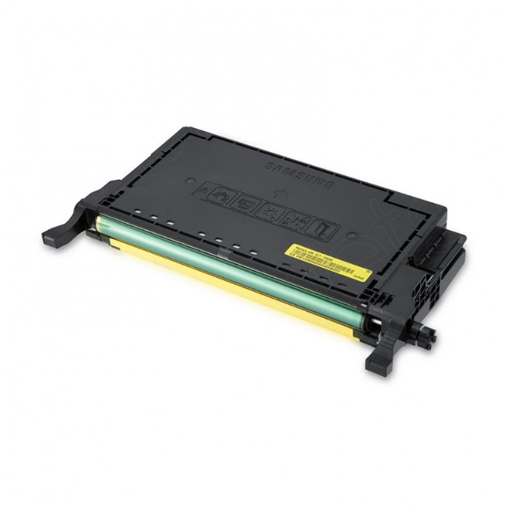 Samsung CLT-Y609S Yellow OEM Laser Toner Cartridge