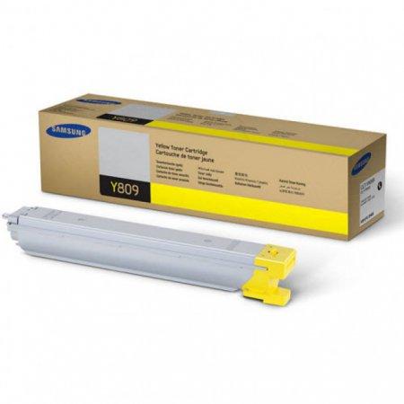 Samsung CLT-Y809S Yellow OEM Laser Toner Cartridge