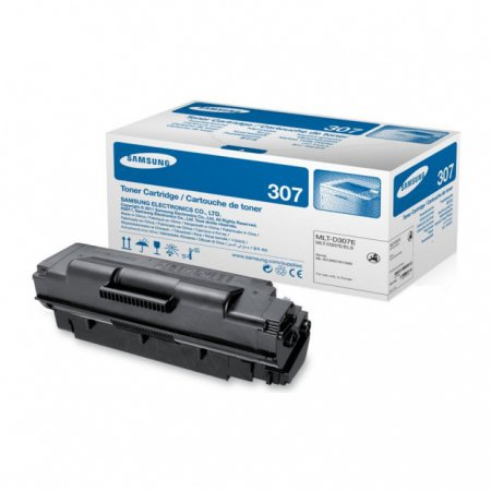 Samsung MLT-D307E EHY Black OEM Laser Toner Cartridge
