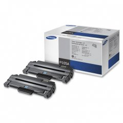 Original Samsung P105A Black Toner 2-Pack