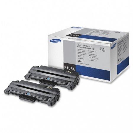 Original Samsung P105A Black Toner 2-Pack
