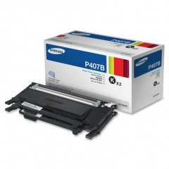 Original Samsung P407B Black Toner 2-Pack