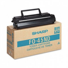 Sharp FO-45ND Black OEM Laser Toner Cartridge