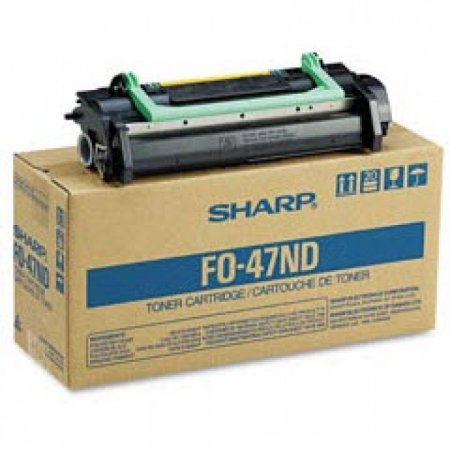Sharp FO-47ND Black OEM Laser Toner Cartridge