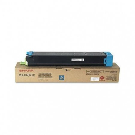Sharp MX-C40NTC Cyan OEM Laser Toner Cartridge