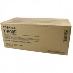 Toshiba T-500F Black OEM Laser Toner Cartridge