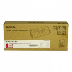 Toshiba T-FC34-UM Magenta OEM Laser Toner Cartridge