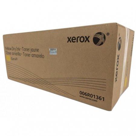 Xerox 006R01361 (6R1361) Yellow OEM Toner Bottle
