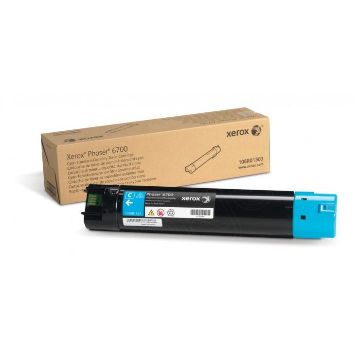 Xerox 106R01503 (106R1503) Cyan OEM Laser Toner Cartridge